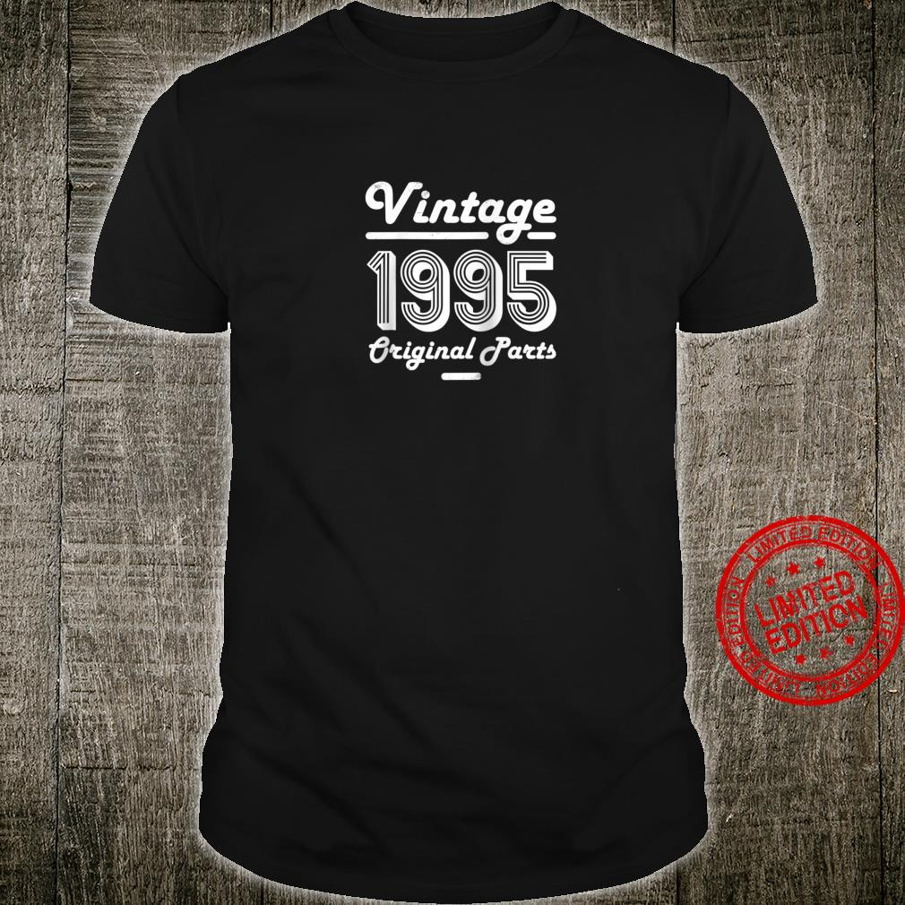 25th Birthday Vintage 25 Year Old for him 1995 Son Shirt
