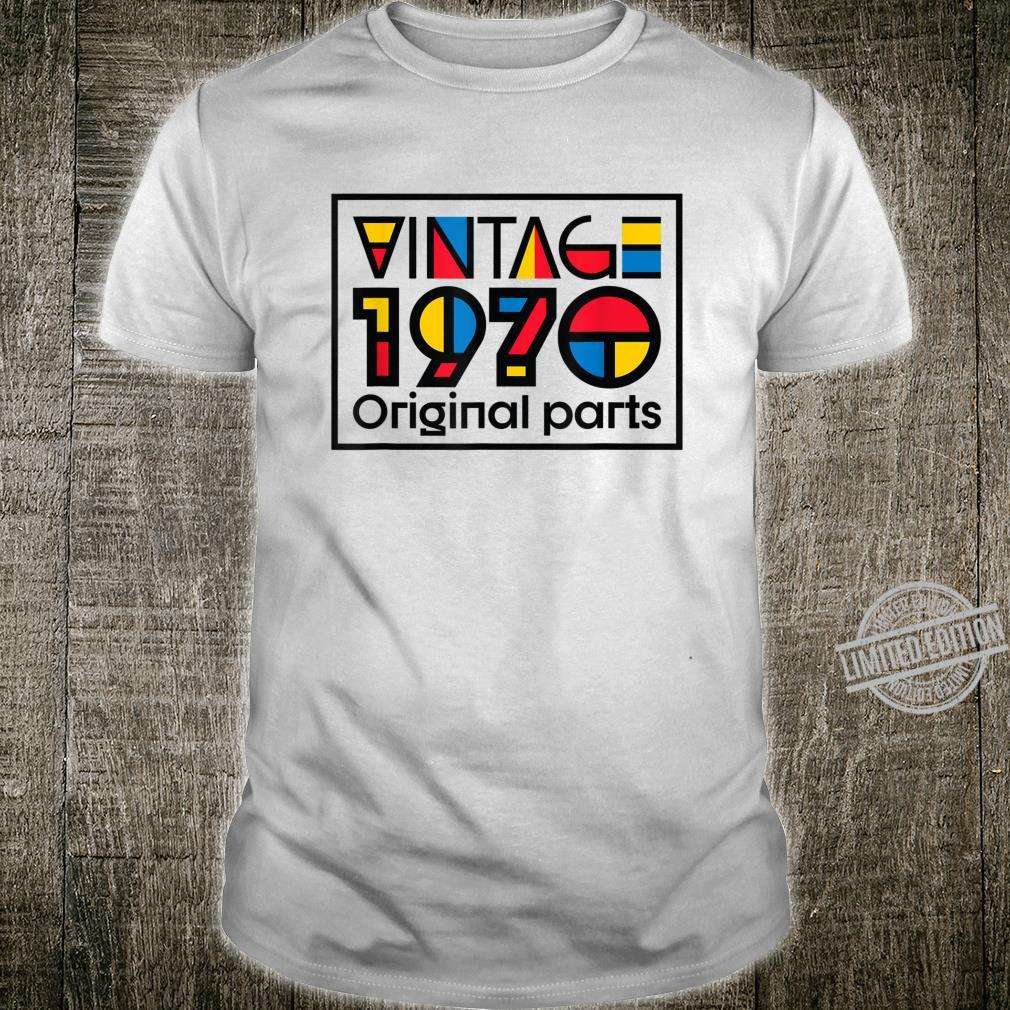 50 Years Old Made in 1970 Vintage 50th Birthday Shirt
