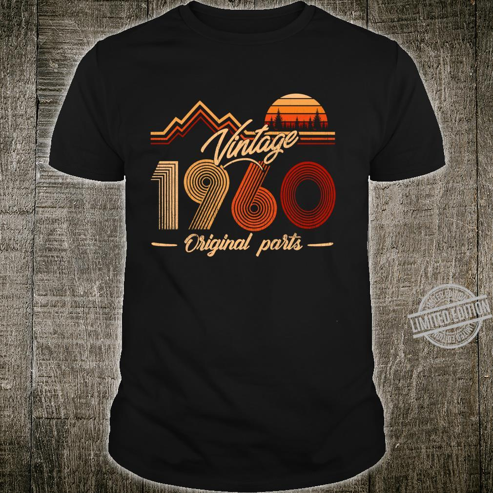 60 Years Old Made in 1960 Vintage 60th Birthday Shirt
