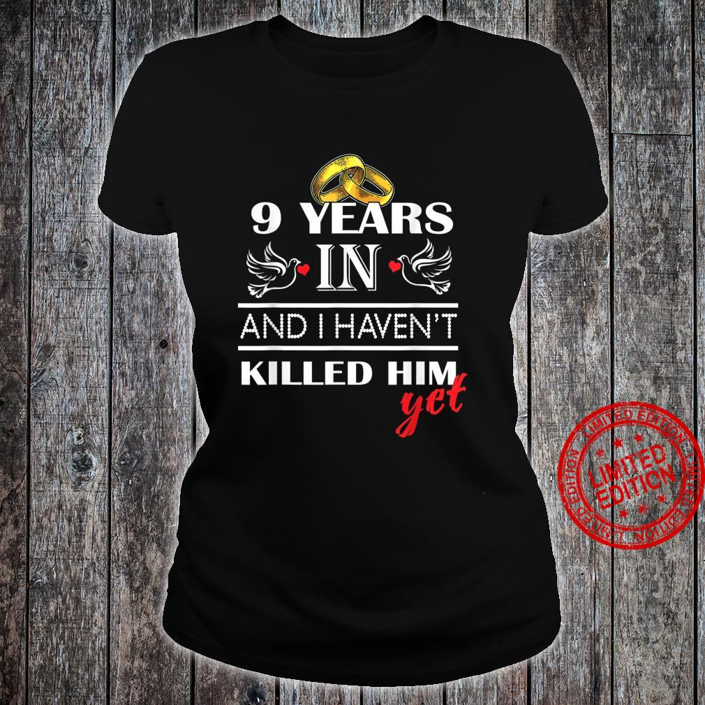 9st 9 Years Wedding Anniversary for her, Him, couples Shirt ladies tee