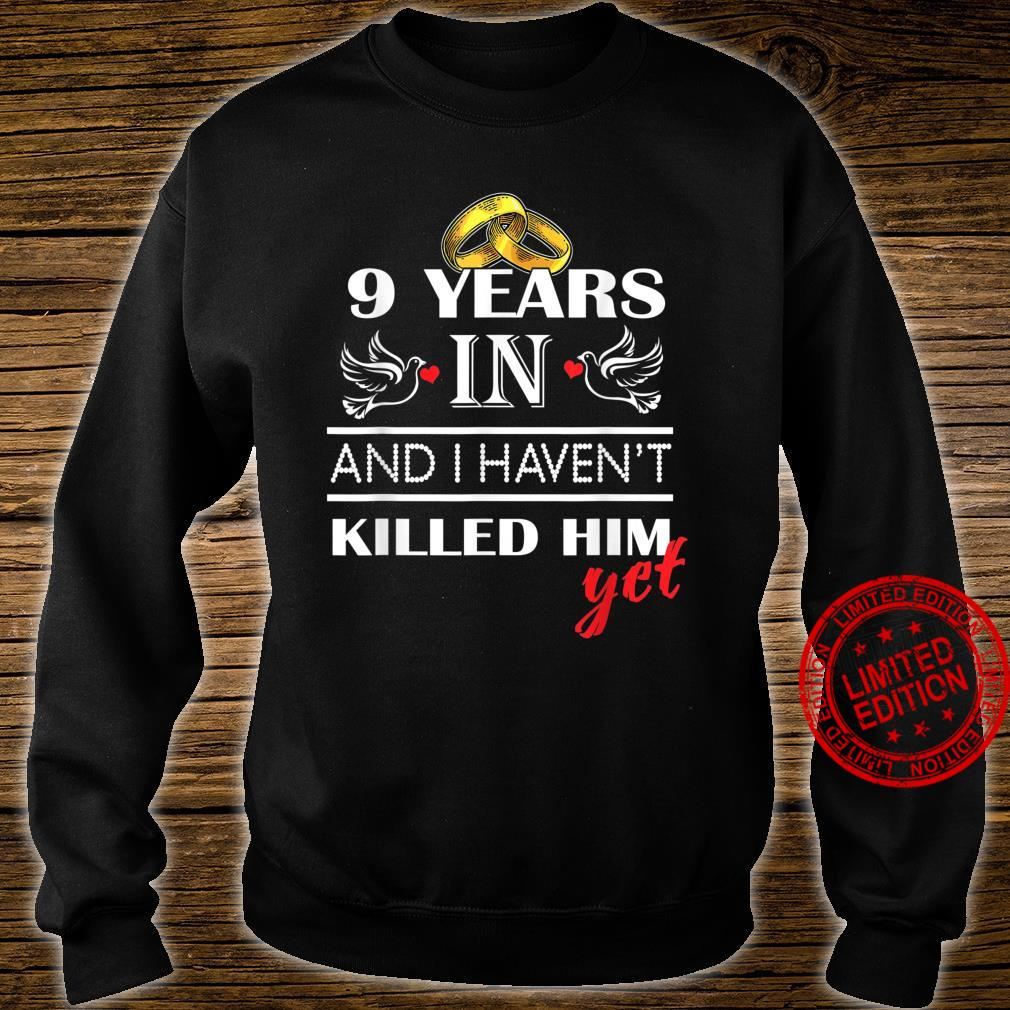9st 9 Years Wedding Anniversary for her, Him, couples Shirt sweater
