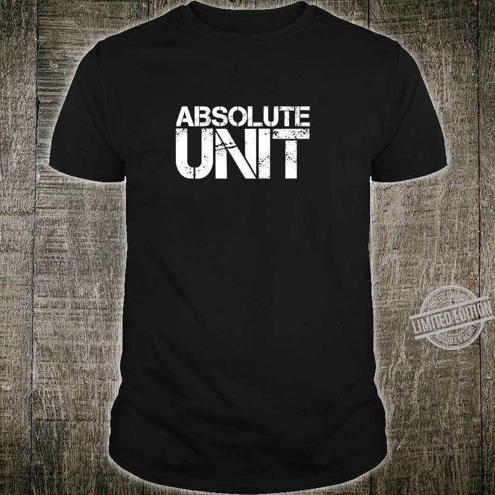 Absolute Einheit Ehrfurcht vor der Größe dieses Jungen Langarmshirt Shirt