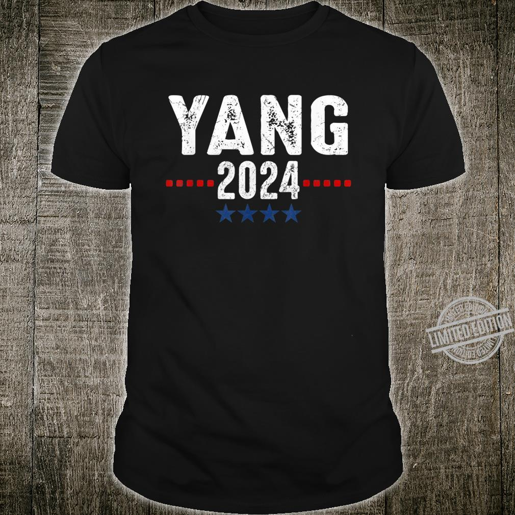 Andrew Yang 2024 Presidential Election Political Costume Shirt