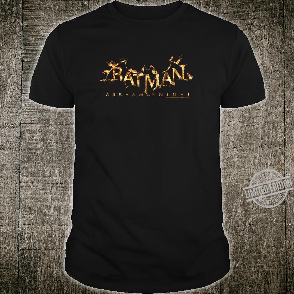 Batman Arkham Knight Flame Logo Shirt