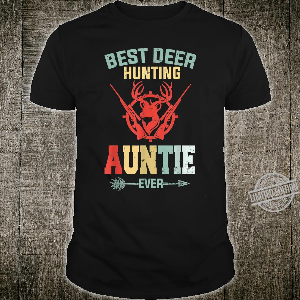 Best Deer Hunting Auntie Ever Fishing Hunting Mother's Day Shirt