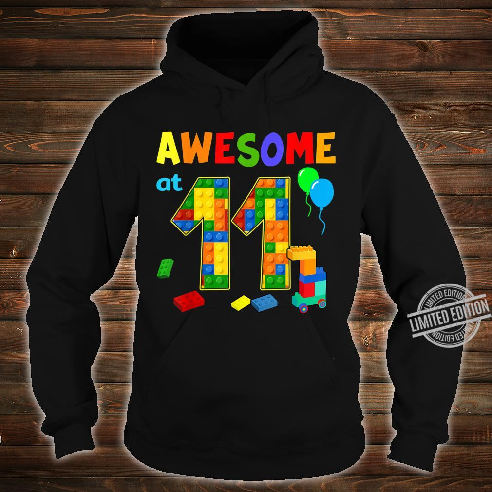 Birthday Party For Awesome At 11 Blocks Shirt hoodie