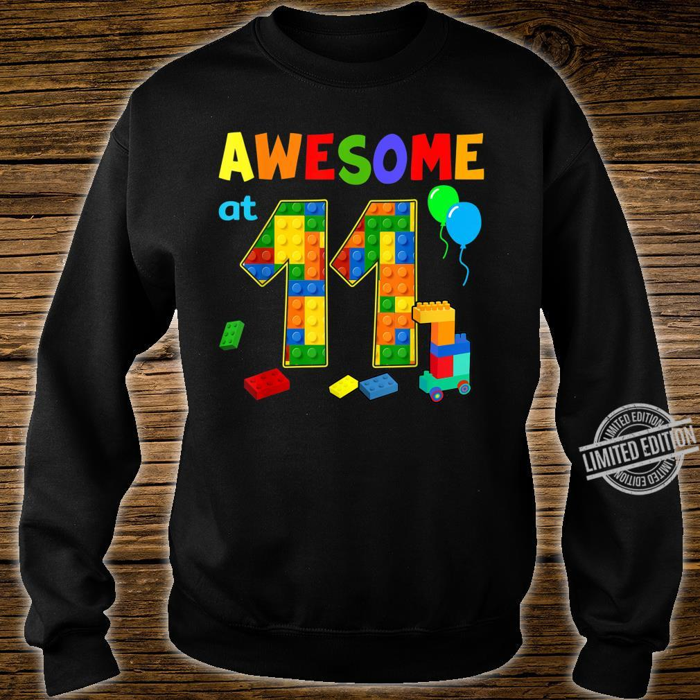 Birthday Party For Awesome At 11 Blocks Shirt sweater