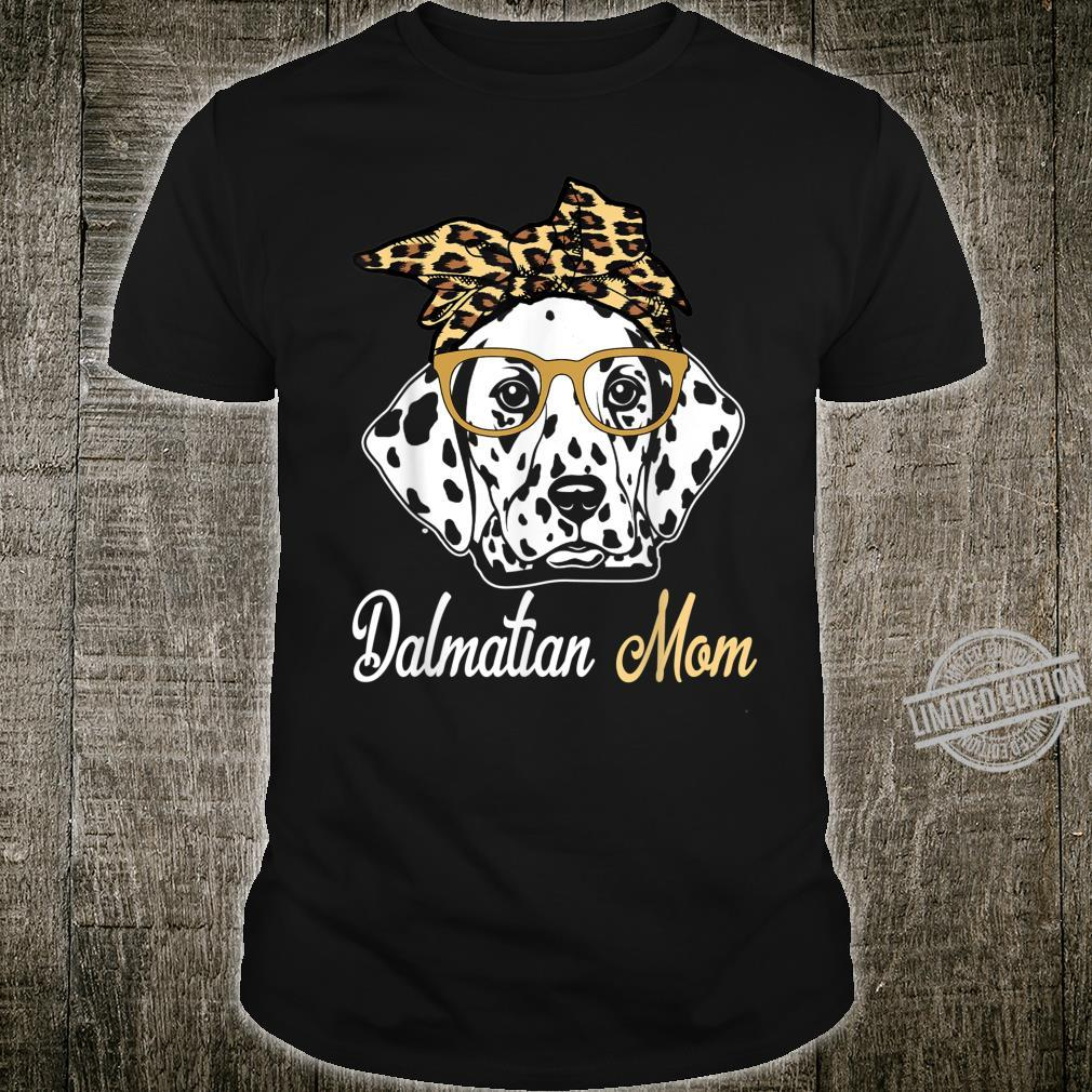 Birthday and Mother's dayDalmatian Mom Shirt