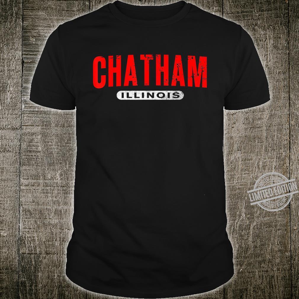 CHATHAM IL ILLINOIS USA City Roots Custom Vintage Shirt