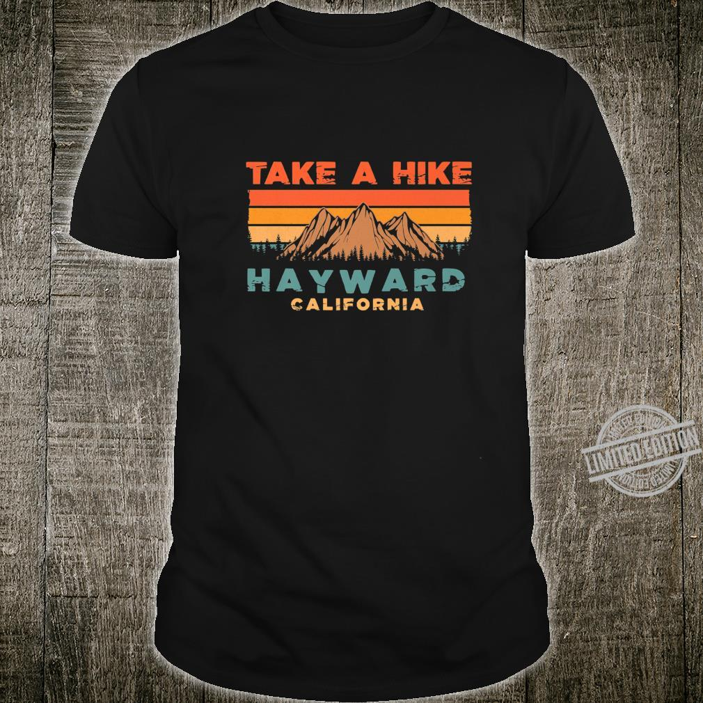 California Vintage Take A Hike Hayward Moutain Shirt