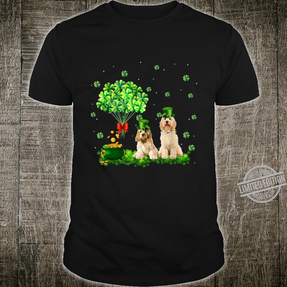 Cockapoo St.Patrick's Day Dog Shamrock Shirt
