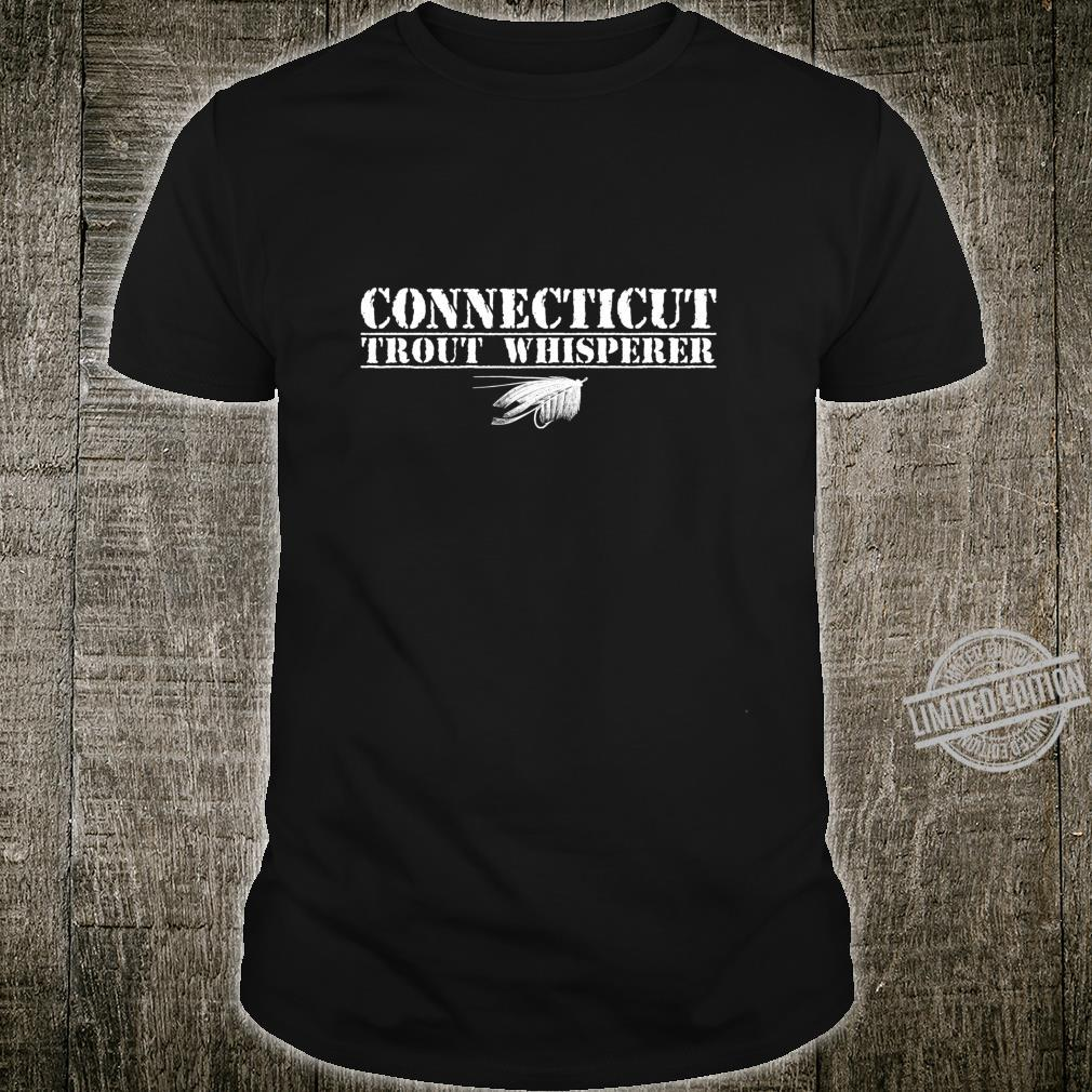 Connecticut Trout Whisperer Fly Tyer Specialist Fish Shirt