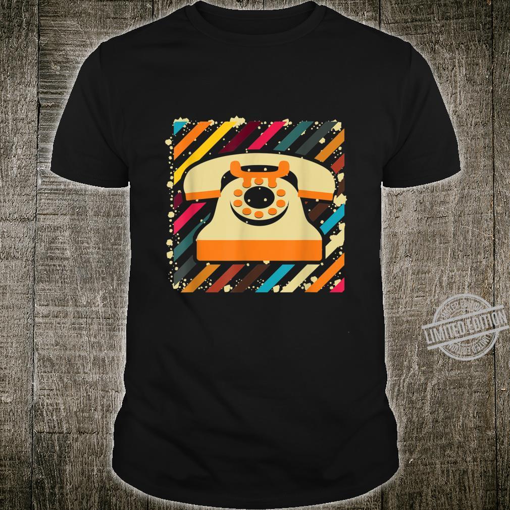 Cool Vintage Telephone Telephone Operators Shirt