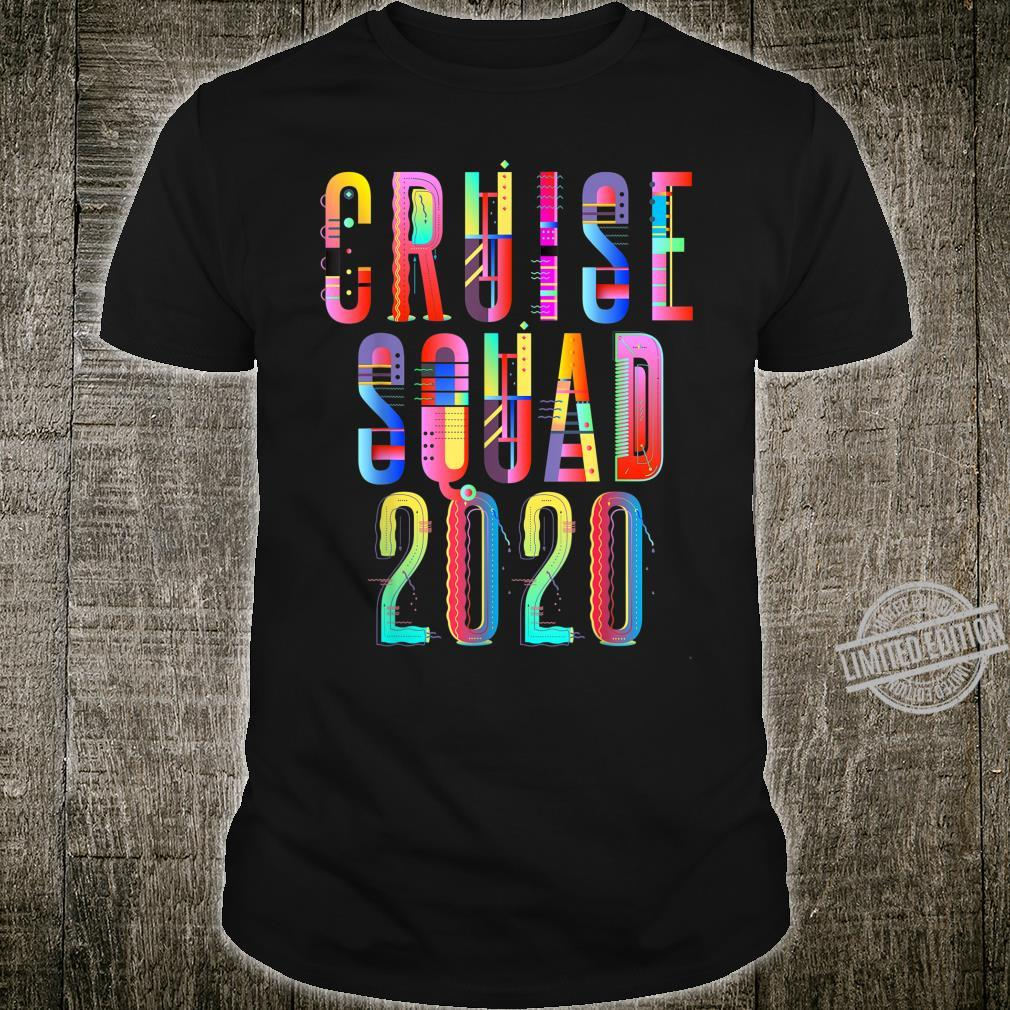 Cruise Squad 2020 Group Vacation Matching Shirt