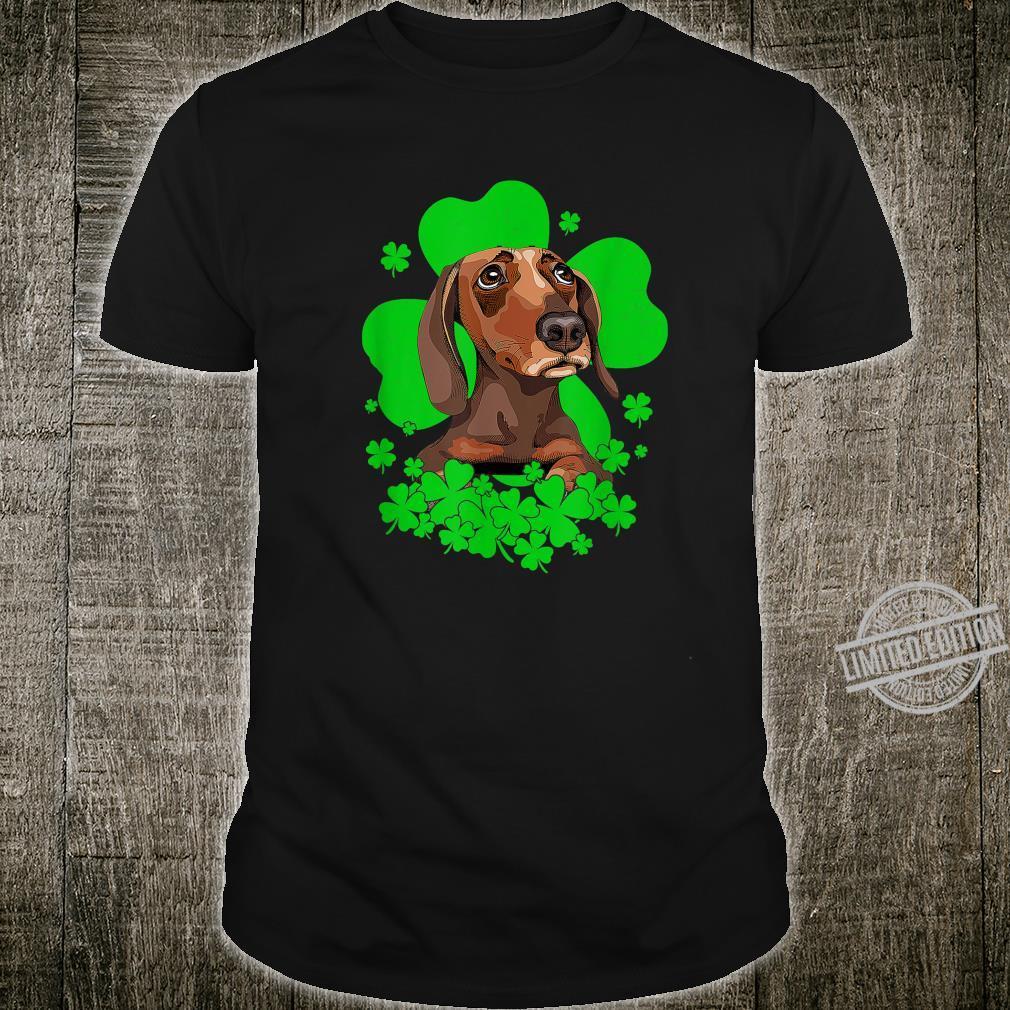 Dachshund St. Patrick's Day Clovers Shirt