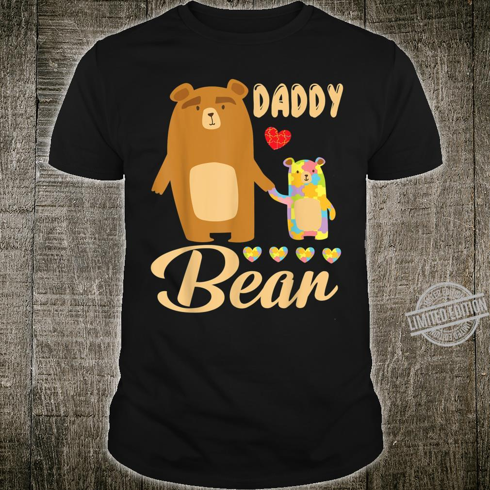 Daddy And Son Daughter Walking Together Happy Daddy Bear Shirt