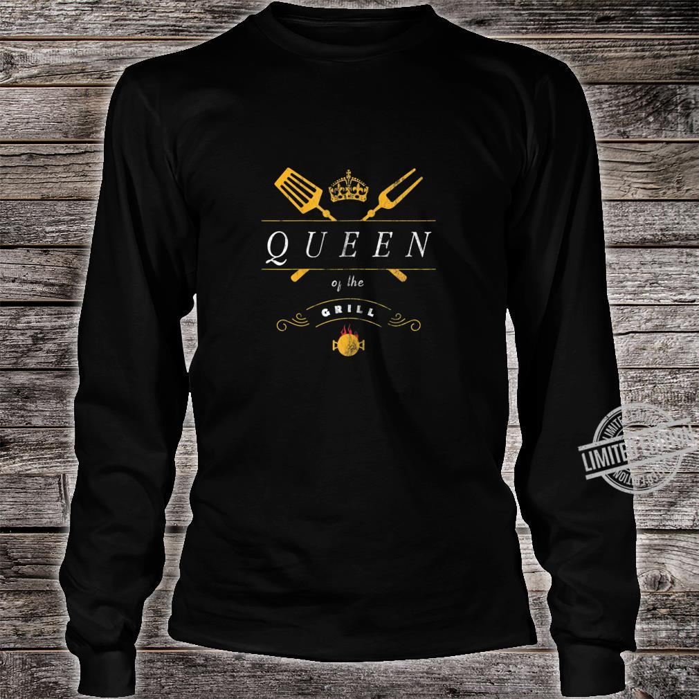 Damen Grill Queen Grillmeister Grillen Für Frauen Shirt long sleeved
