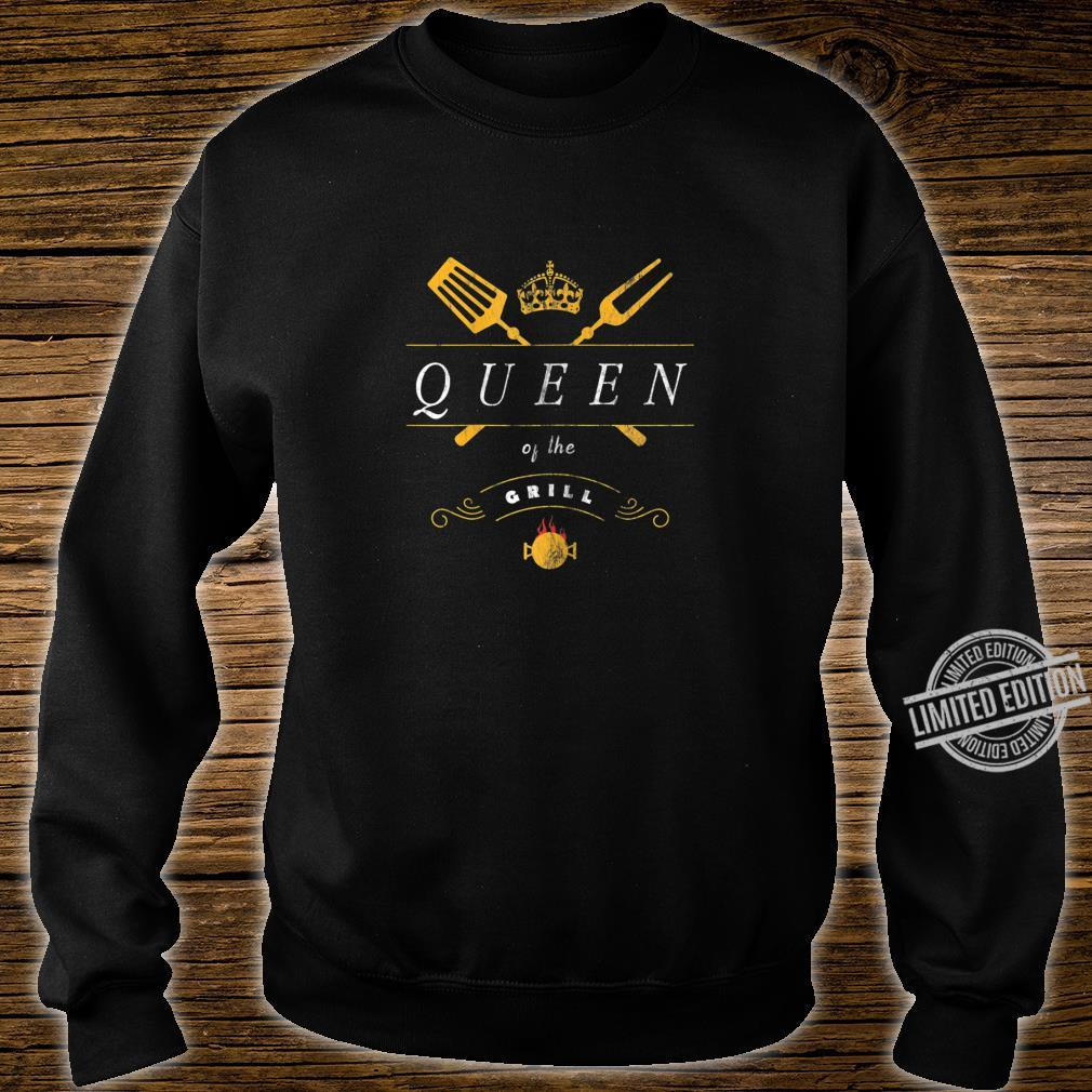 Damen Grill Queen Grillmeister Grillen Für Frauen Shirt sweater