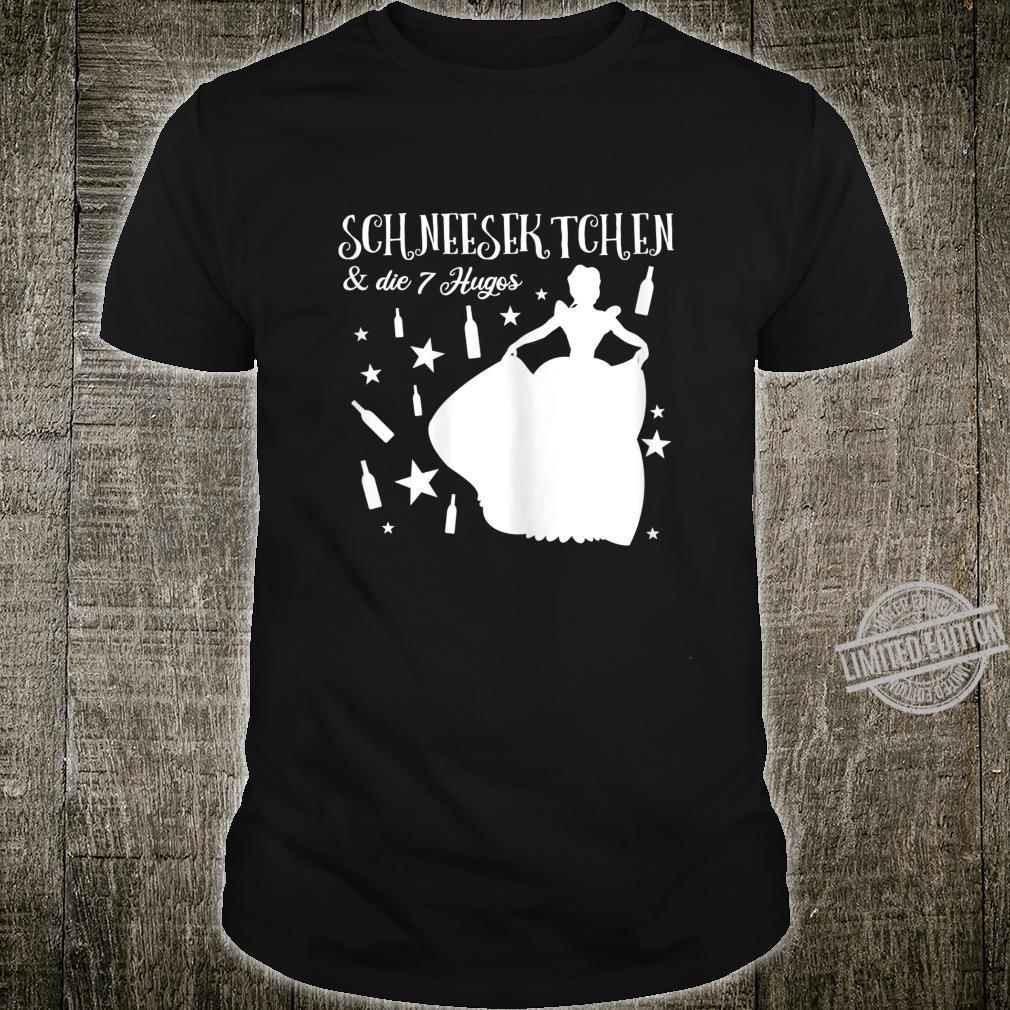 Damen Schneesektchen Lustiges Fun & Party Shirt für Damen Shirt