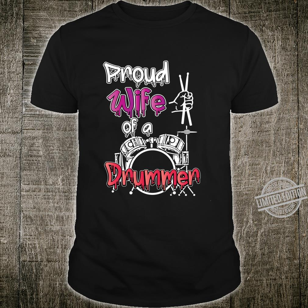 Drummer Mother's Day Drummer Wife Percussion Shirt