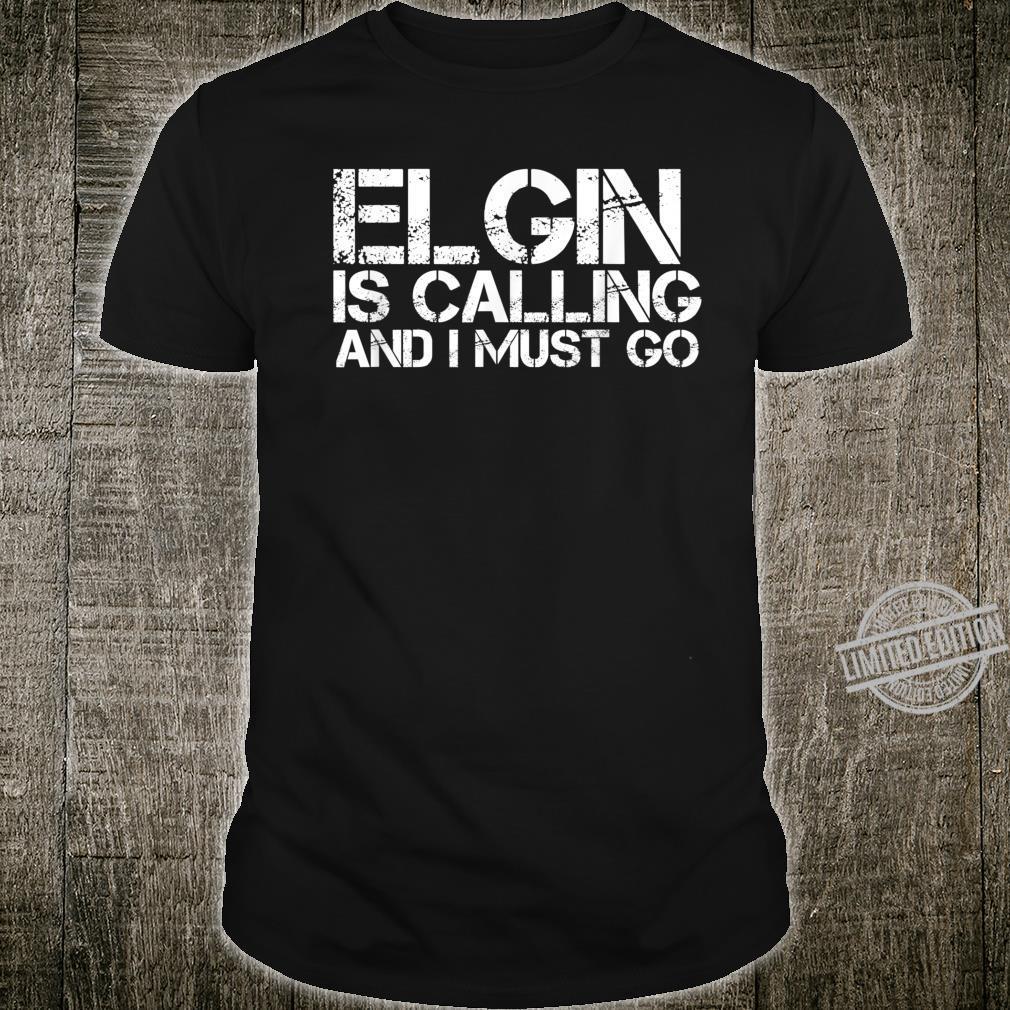 ELGIN IL ILLINOIS City Trip Home Roots USA Shirt