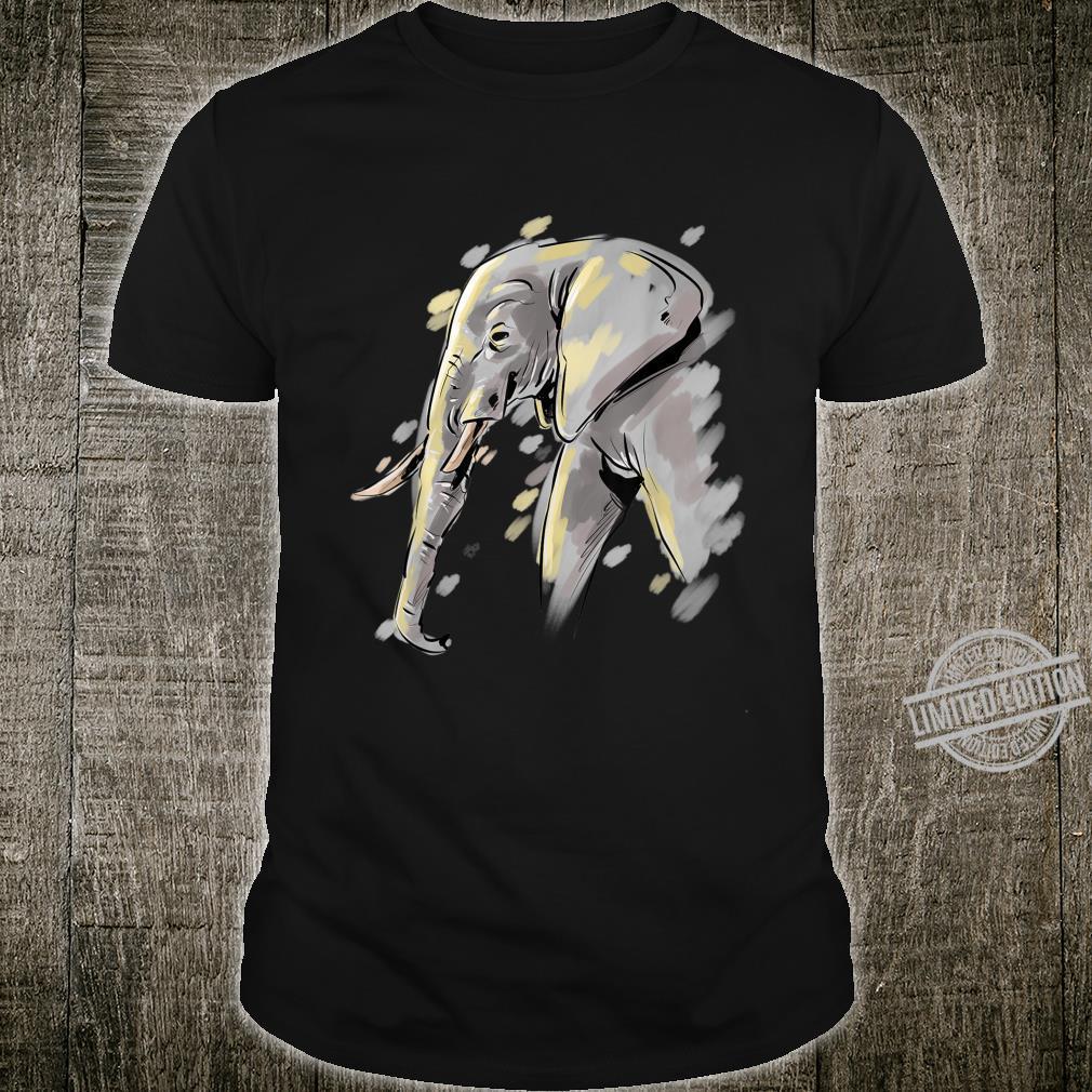 Elefanten Shirt Damen Elefantenliebhaber Geschenk Elefant Shirt
