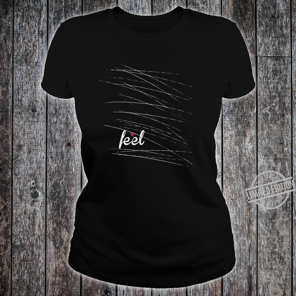 Feel Emo, gothic, nu goth mit einem Tropfen Blut Shirt ladies tee