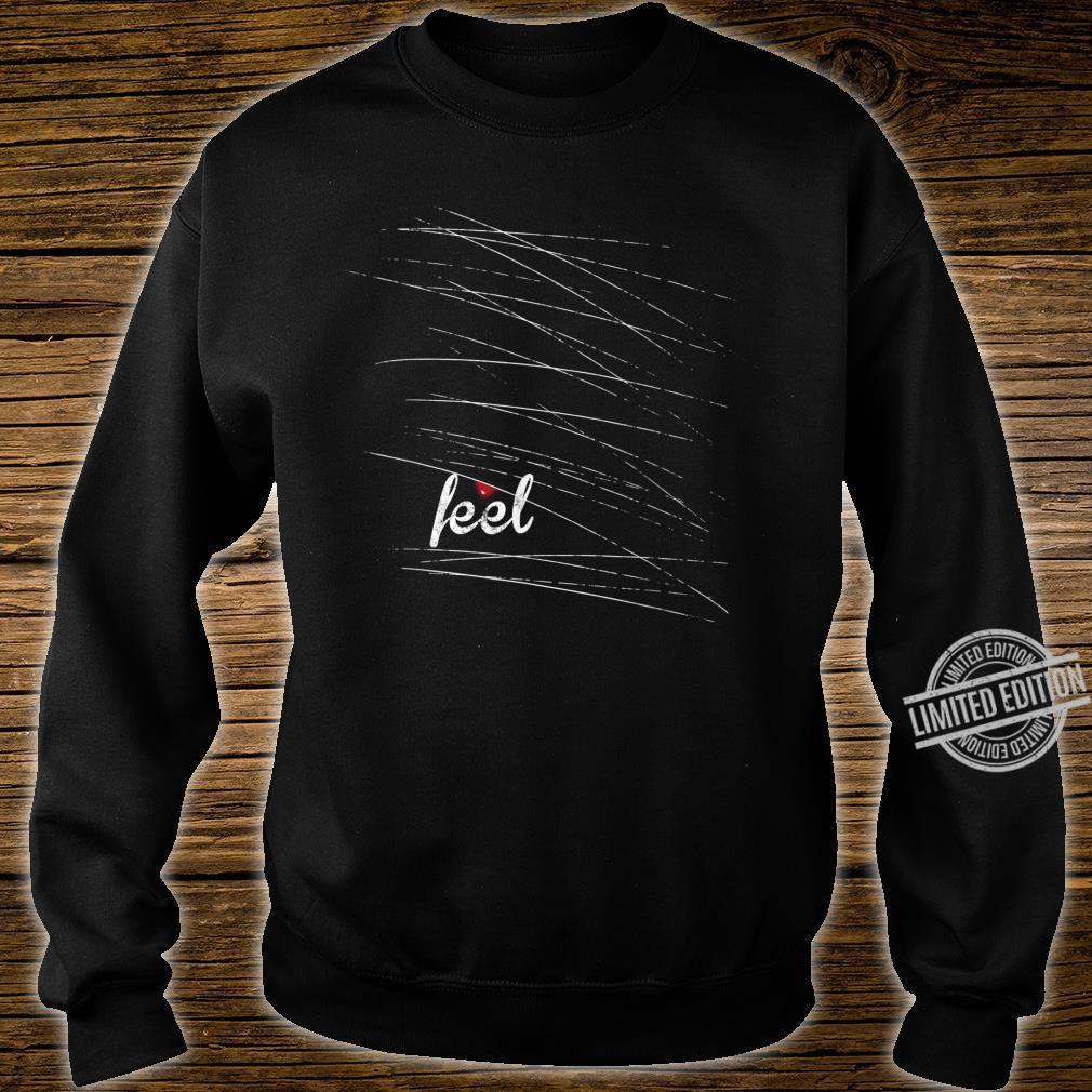 Feel Emo, gothic, nu goth mit einem Tropfen Blut Shirt sweater