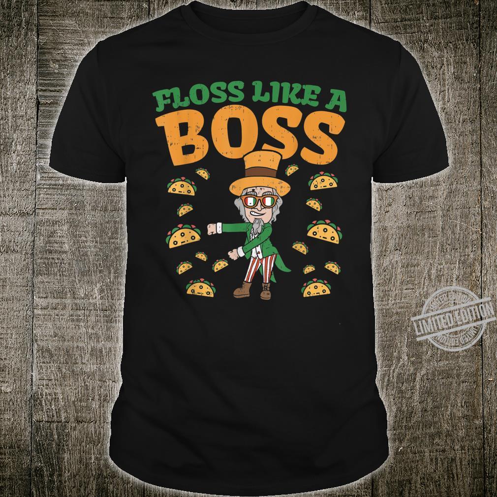 Floss Like A Boss Uncle Sam Flossing Cinco De Mayo Shirt