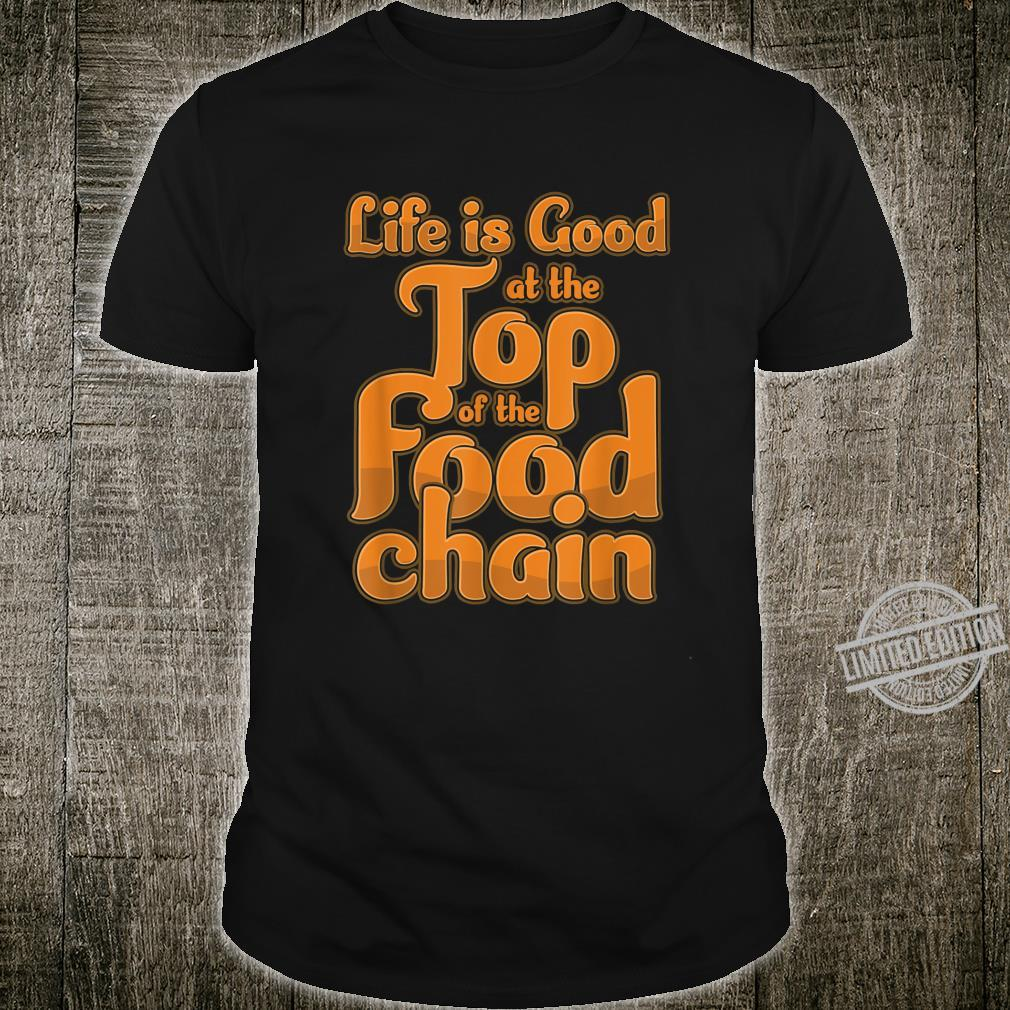 Food Chain BBQ Barbecue Meat Steak Grill Grilling Steak Shirt