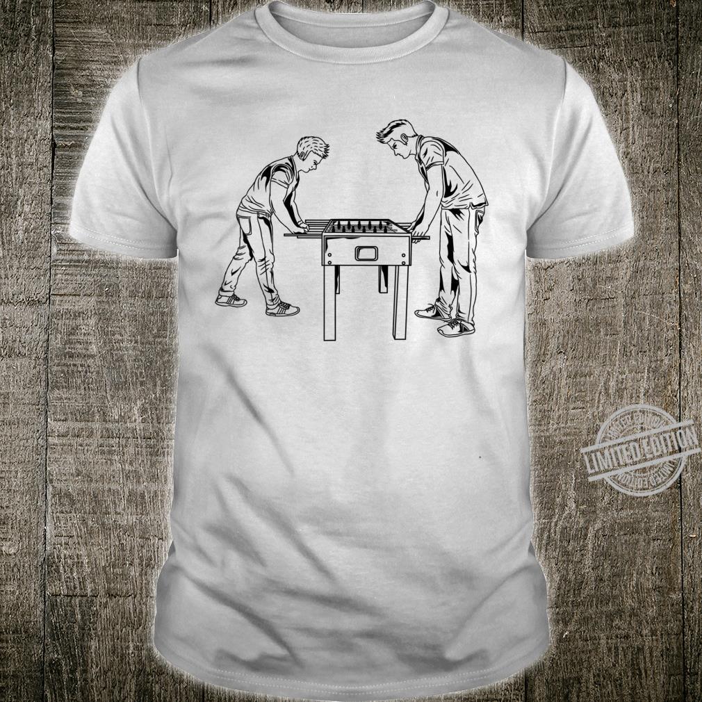 Football Table Player Foosball Soccer Game Hustler Shirt