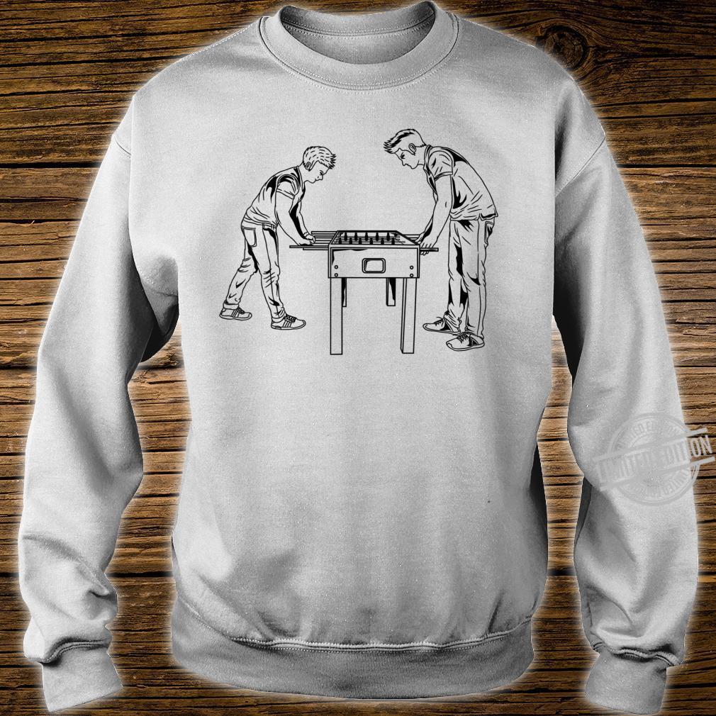 Football Table Player Foosball Soccer Game Hustler Shirt sweater