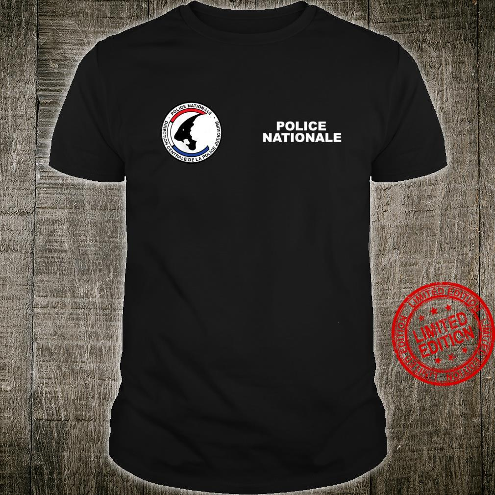 French National Police Shirt