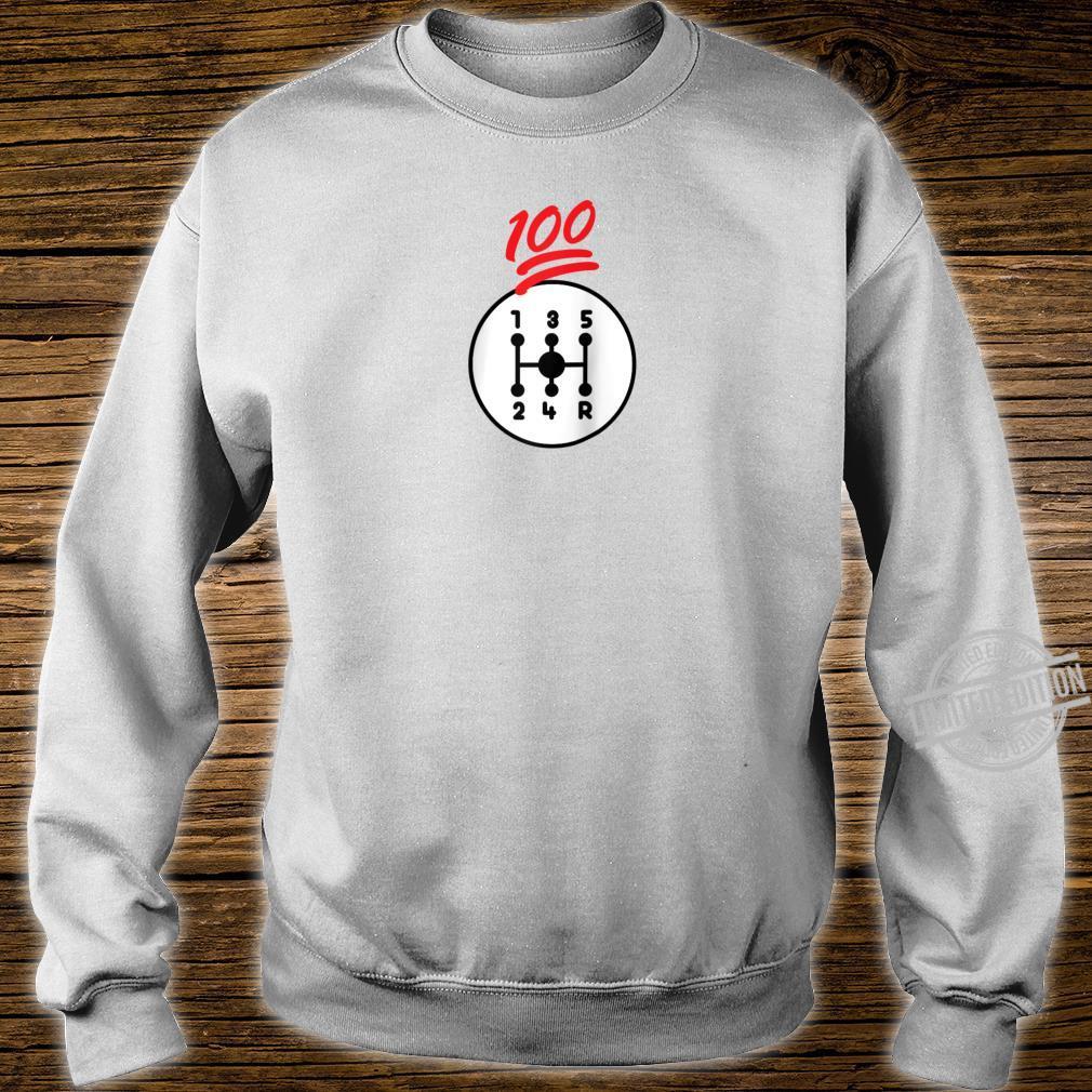 Funny Car Guy 100 Percent Manual Stick Shift Shirt sweater
