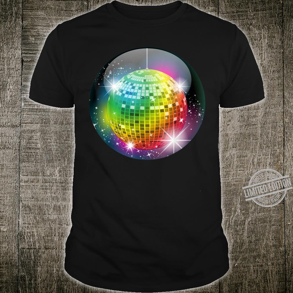 Funny Disco Balls Club Party For Night Life Boy & Girl Shirt