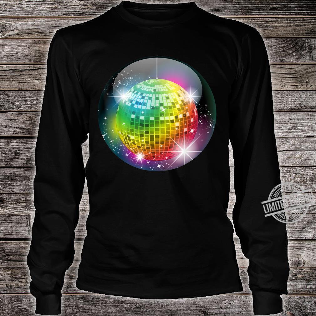 Funny Disco Balls Club Party For Night Life Boy & Girl Shirt long sleeved
