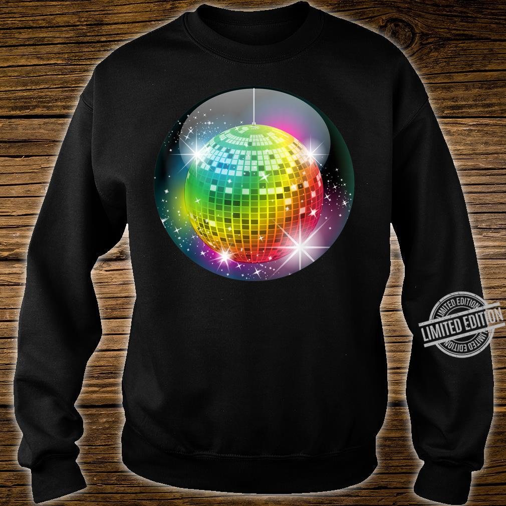 Funny Disco Balls Club Party For Night Life Boy & Girl Shirt sweater