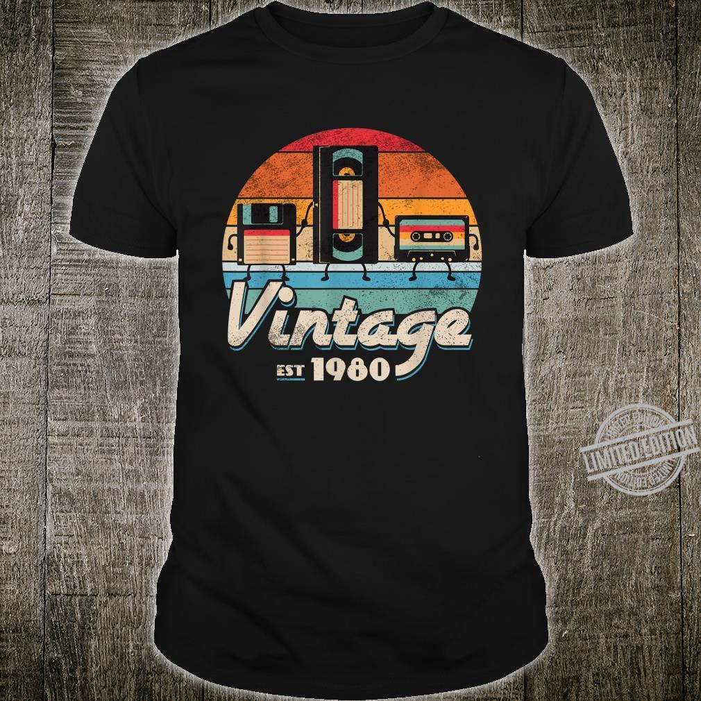 Funny Retro & Vintage 1980 Music Tech Shirt