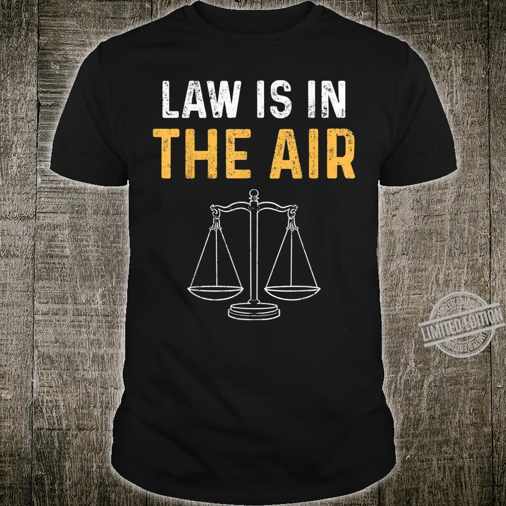 Gesetz Rechtsanwalt Jura Studium Richter Student Shirt
