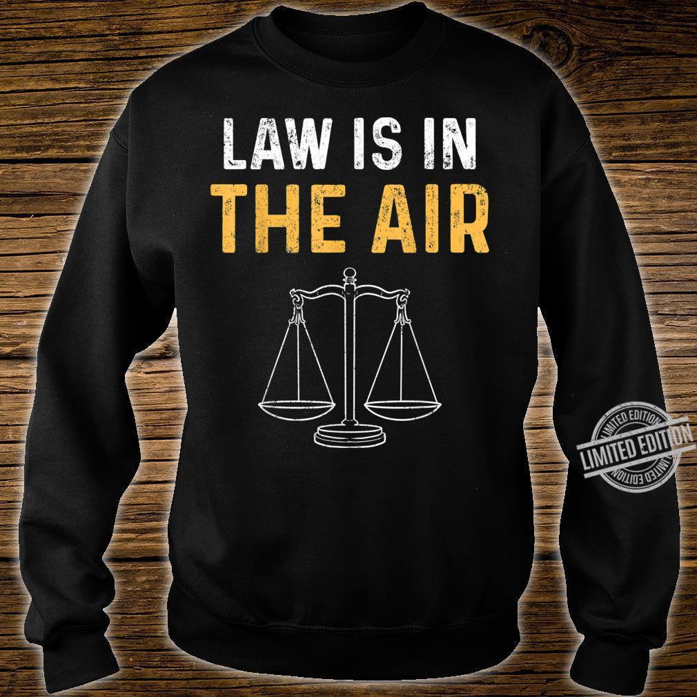 Gesetz Rechtsanwalt Jura Studium Richter Student Shirt sweater