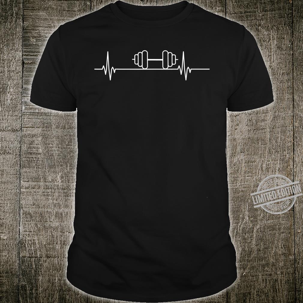 Gewichthebender Herzschlagpuls Shirt