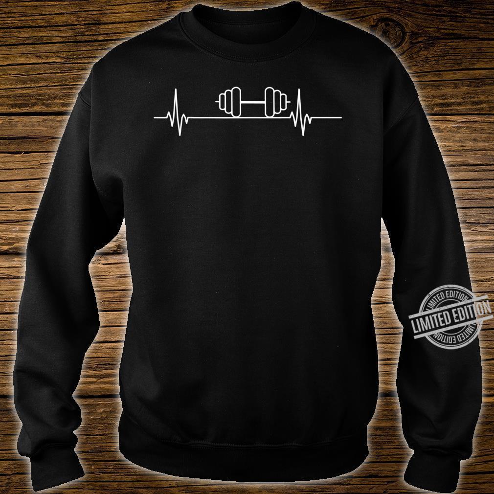 Gewichthebender Herzschlagpuls Shirt sweater