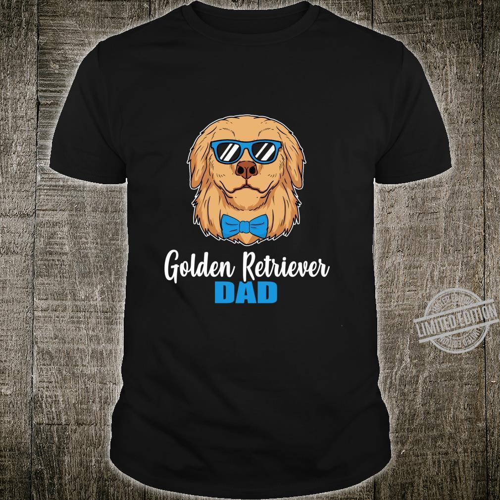 Golden Retriever Dad Idea Proud Dog Owner Shirt