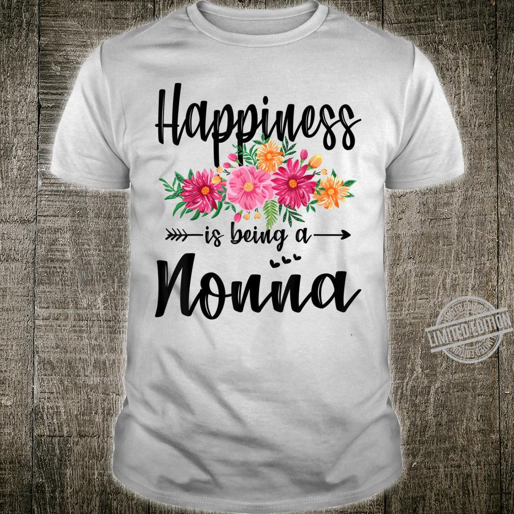 Happiness Is Being A Nonna Mother's Day Shirt