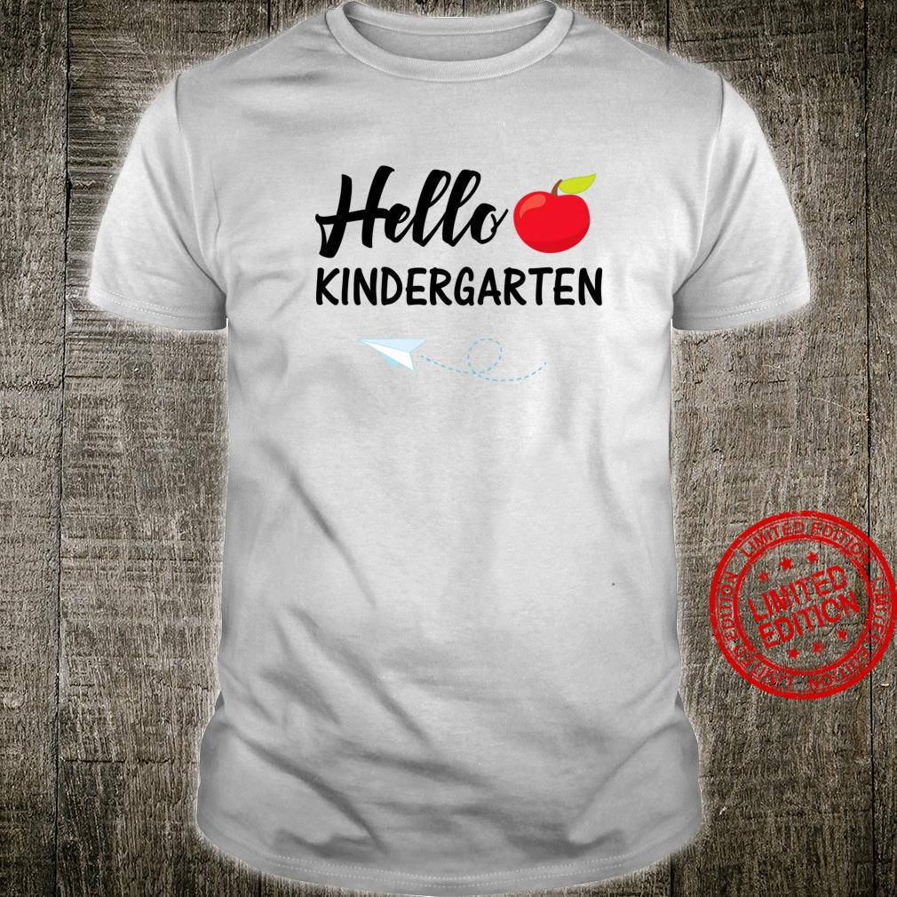 Hello Kindergarten Cute Back To School Teacher Student Shirt