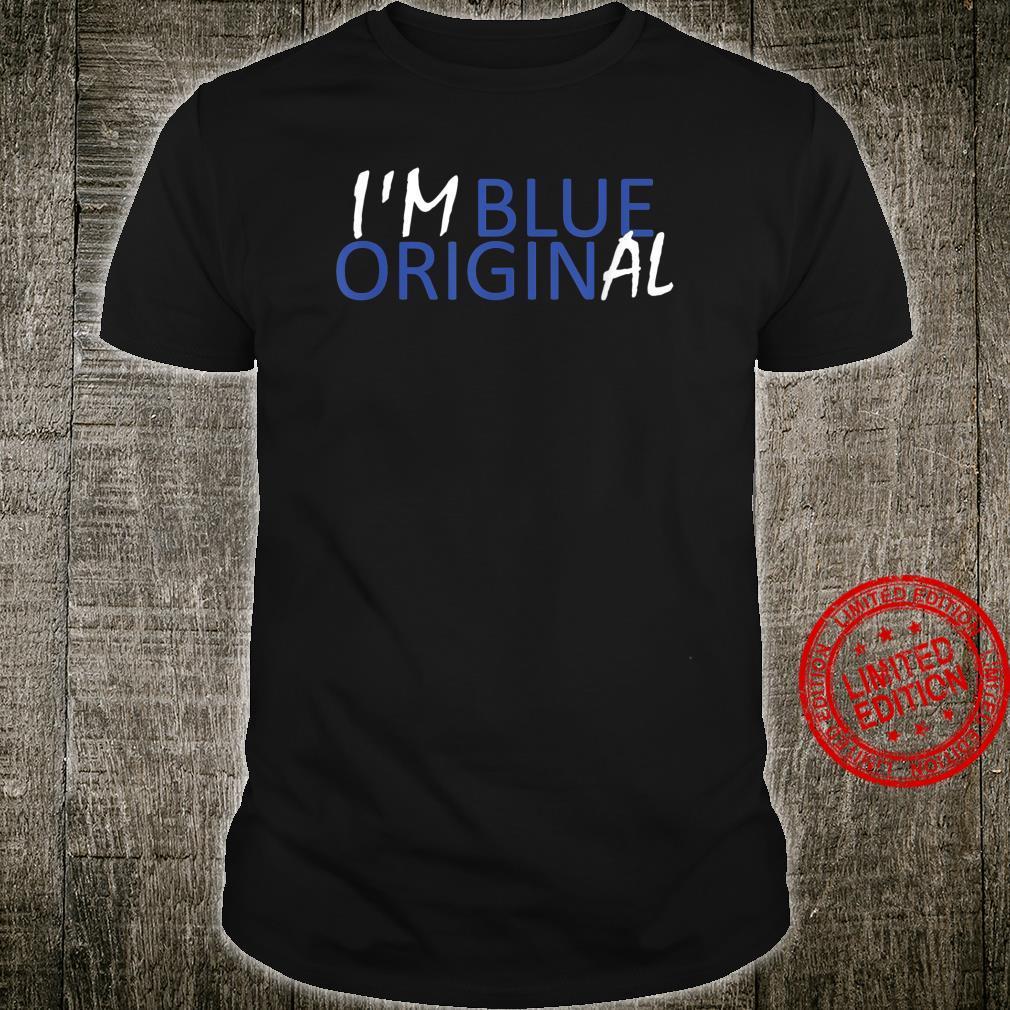 I'M BLUE ORIGINAL New Origin Moon Shepard Glenn Shirt