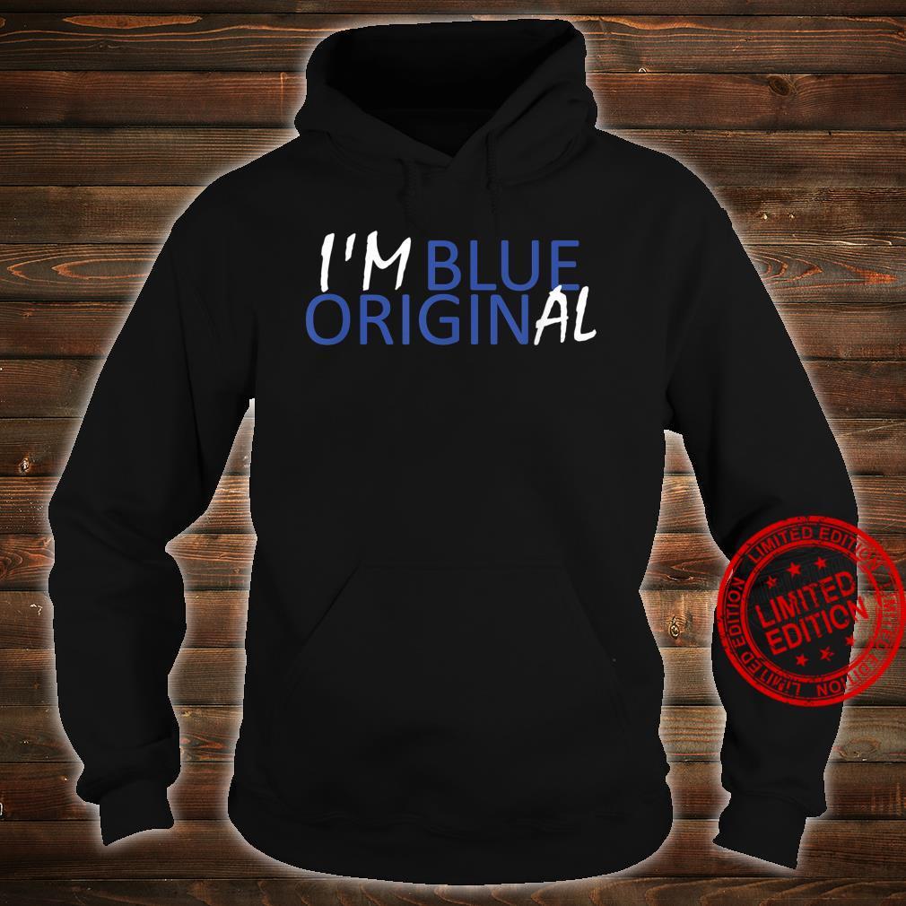 I'M BLUE ORIGINAL New Origin Moon Shepard Glenn Shirt hoodie