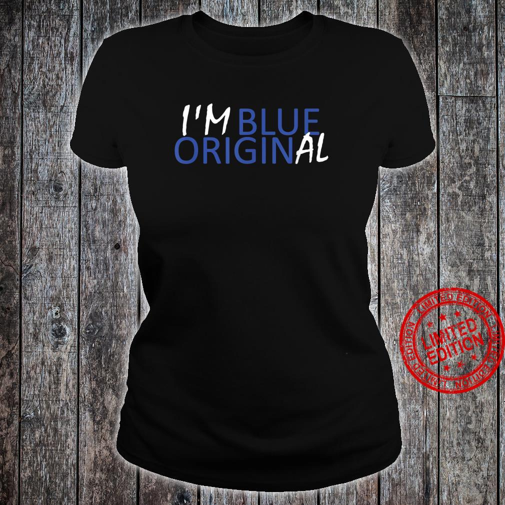 I'M BLUE ORIGINAL New Origin Moon Shepard Glenn Shirt ladies tee