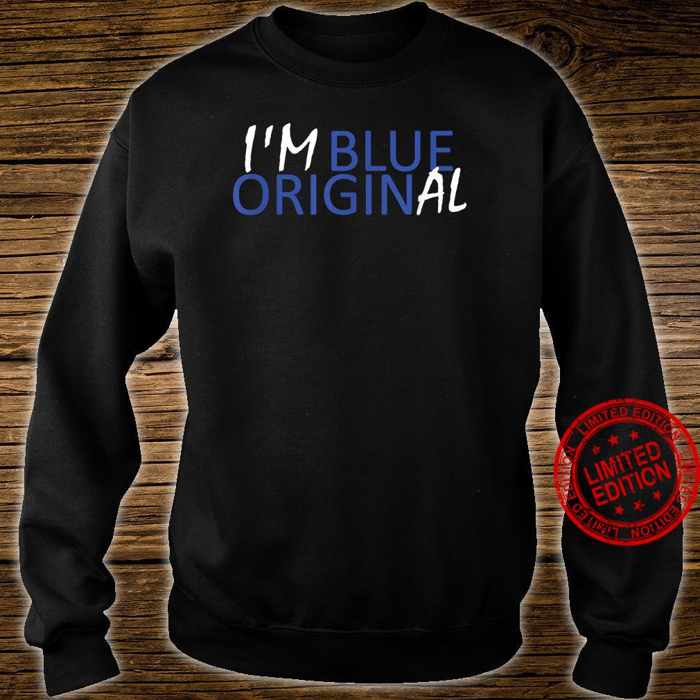I'M BLUE ORIGINAL New Origin Moon Shepard Glenn Shirt sweater
