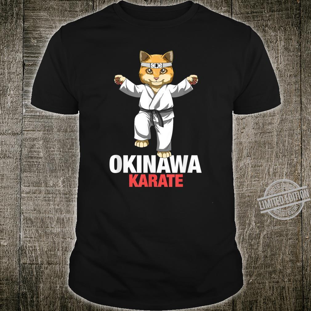 Karate Cat Okinawa Japan Shirt